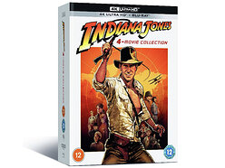 Win a copy of The Indiana Jones 4-Movie Collection on 4K Ultra HD Blu-ray