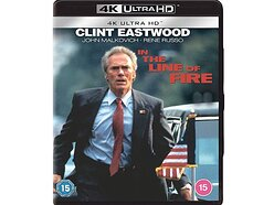 Win a copy of In the Line of Fire on 4K Ultra HD Blu-ray