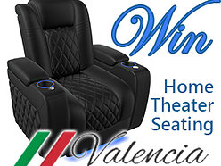 Win a 'Valencia Theater Seating' Luxury Recliner worth £1,400!