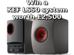 Win a KEF LS50 Wireless II all-in-one speaker system worth £2,500