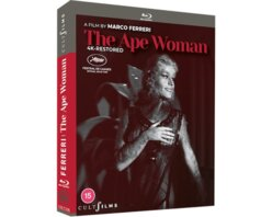 Win a copy of The Ape Woman on Blu-ray