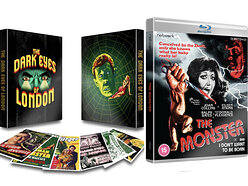 Win copies of The Dark Eyes of London and The Monster on Blu-ray