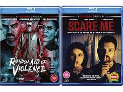 Win copies of 2 Shudder/Acorn Horror Blu-rays