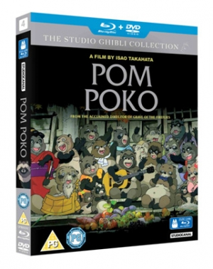 Win Pom Poko on Blu-ray
