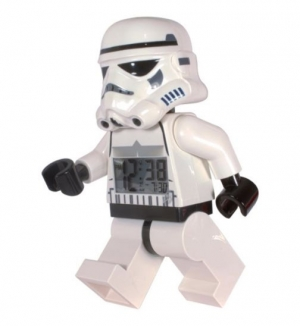 Win this posable LEGO Star Wars alarm clock
