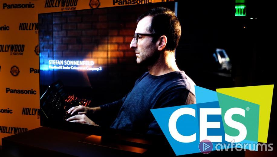 CES VIDEO: Panasonic GZ2000 OLED  - Hollywood Colourist Interview