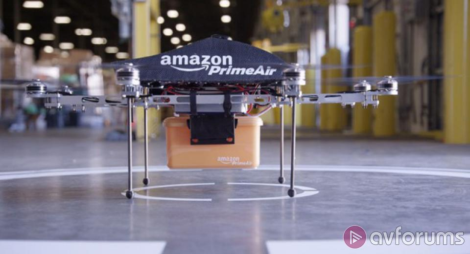 Amazon testing air delivery drones