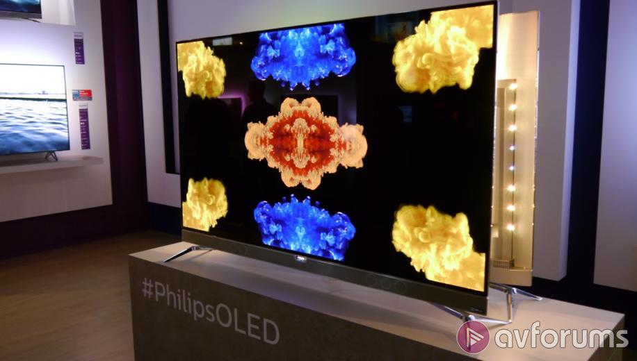 first look at the philips 901f ultra hd 4k oled tv avforums. Black Bedroom Furniture Sets. Home Design Ideas