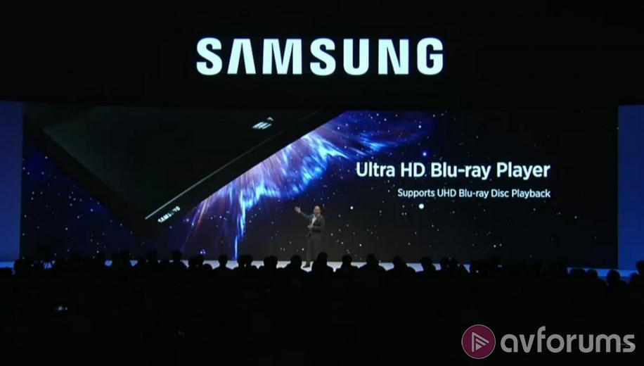 Samsung UBD-K8500 Ultra HD Blu-ray Player coming