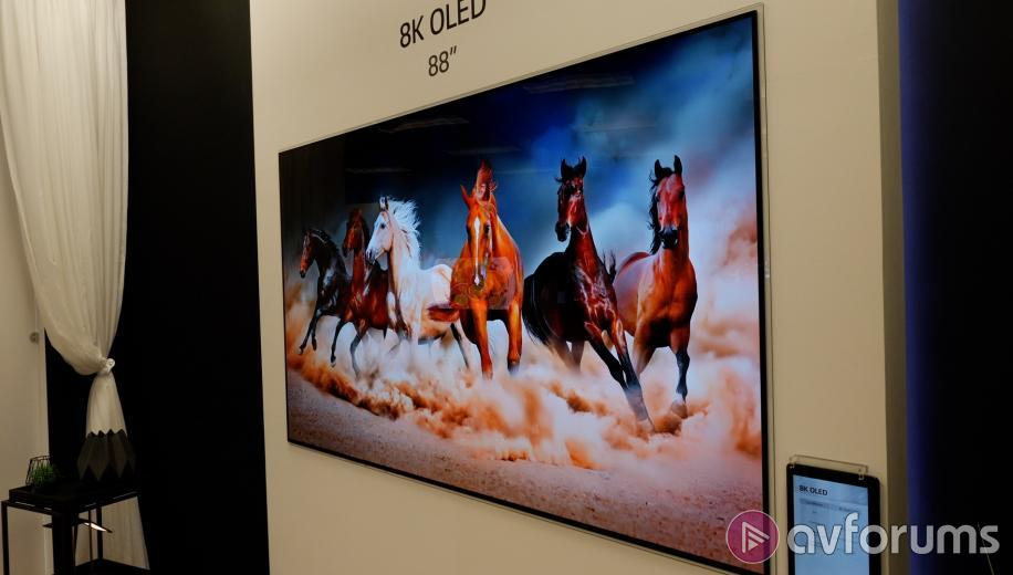 CES 2018 News: LG Display demos 8K and Roll-Up OLED TVs