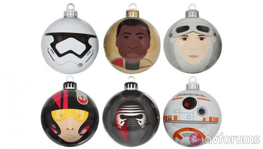 Star Wars: The Force Awakens Christmas Baubles Launched