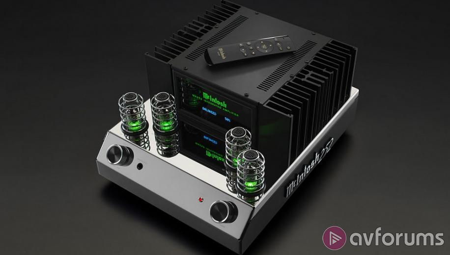 McIntosh MA252 hybrid valve & solid state amplifier announced | AVForums