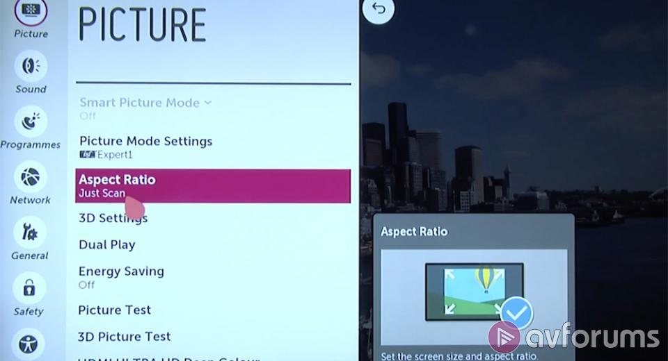 VIDEO: LG 55UF950V Ultra HD 4K TV Picture Settings | AVForums