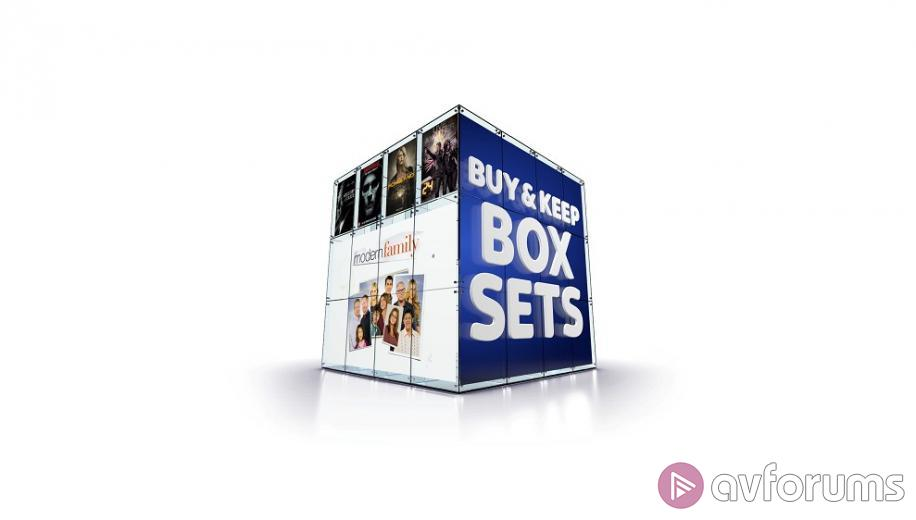 Sky Store launches Buy & Keep Box Sets