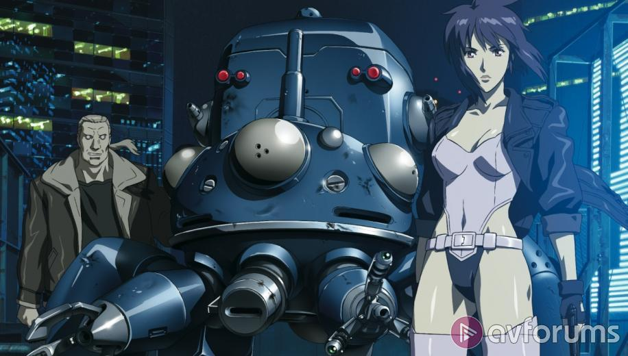 Ghost In The Shell Stand Alone Complex The Laughing Man Blu Ray Review Avforums