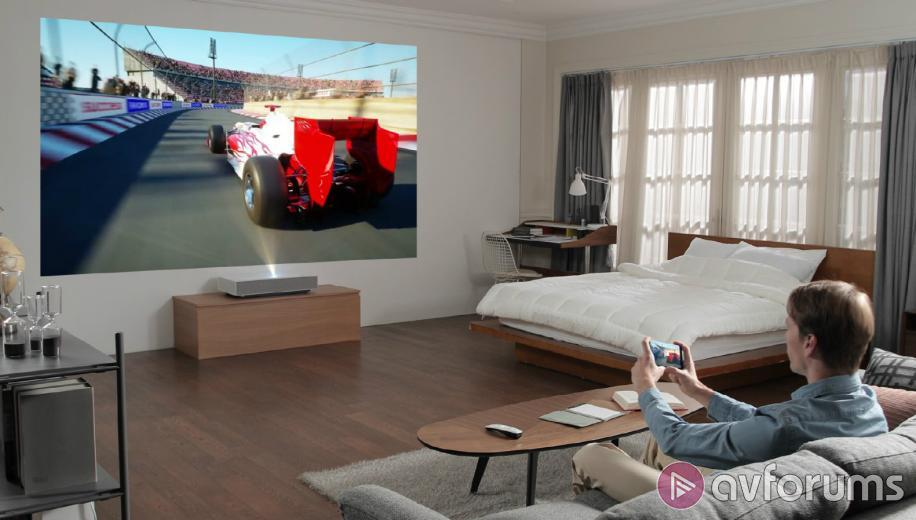LG short throw projector HU85LA available in US | AVForums