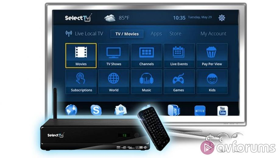 Select TV Set Top Box does everything