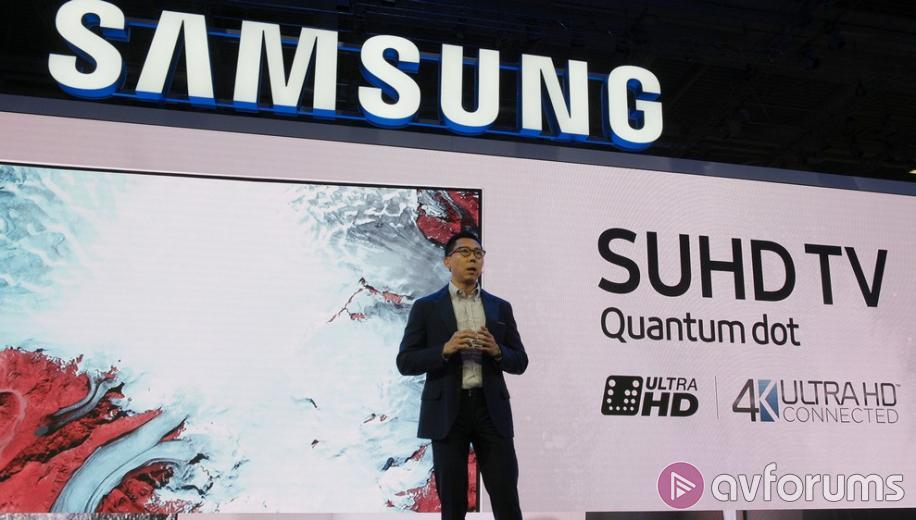 Samsung pushes home the Quantum Dot 'advantage' at IFA