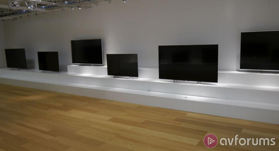 Sony 2015 TV Range including 4K Ultra HD and Android TV