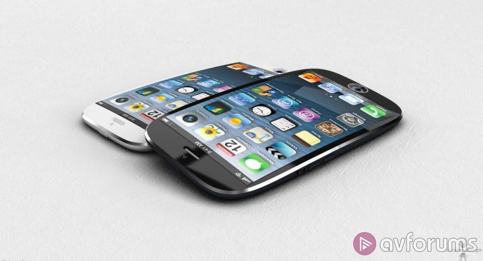 Apple working on curved iPhone 6