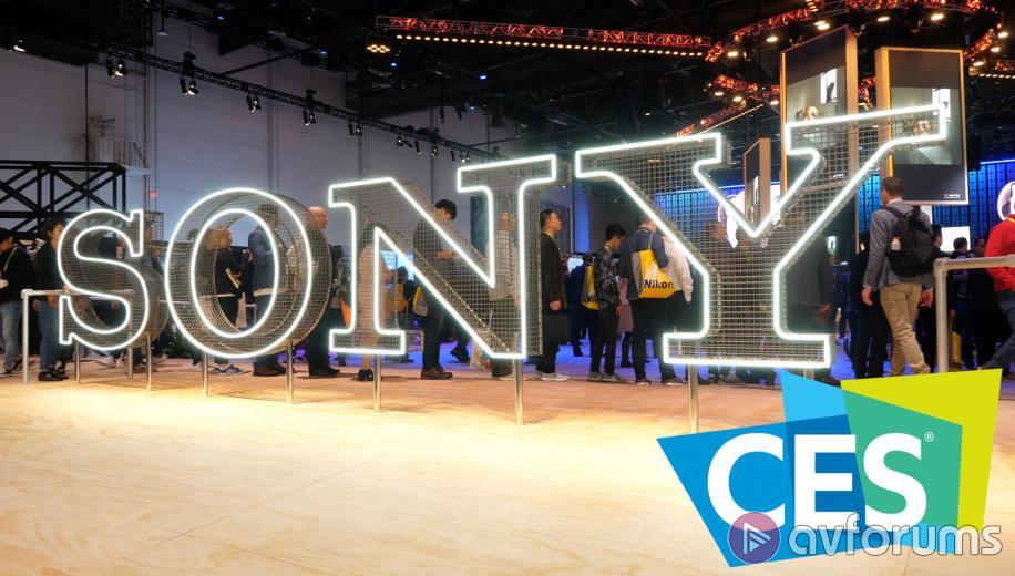 CES VIDEO: Sony AG9 (A9G) 4K OLED, ZG9 (Z9G) 8K LCD and XG95 LCD TVs