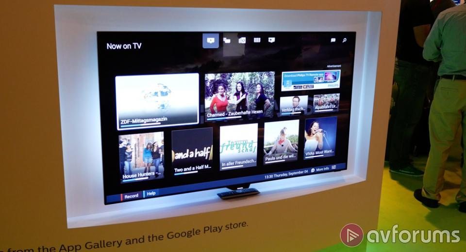 IFA 2014: Philips demonstrate Android TV