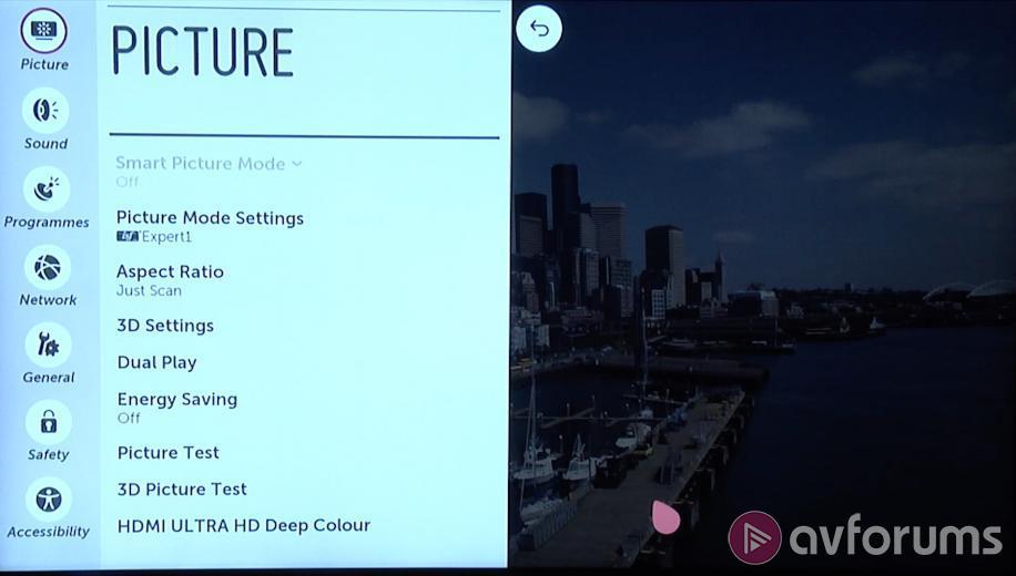 VIDEO: LG 65UF850V Ultra HD 4K TV Picture Settings | AVForums