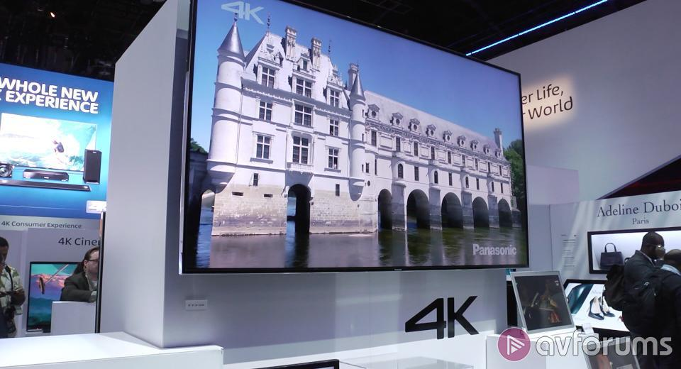 CES 2014 - First look at the new Panasonic TV line-up