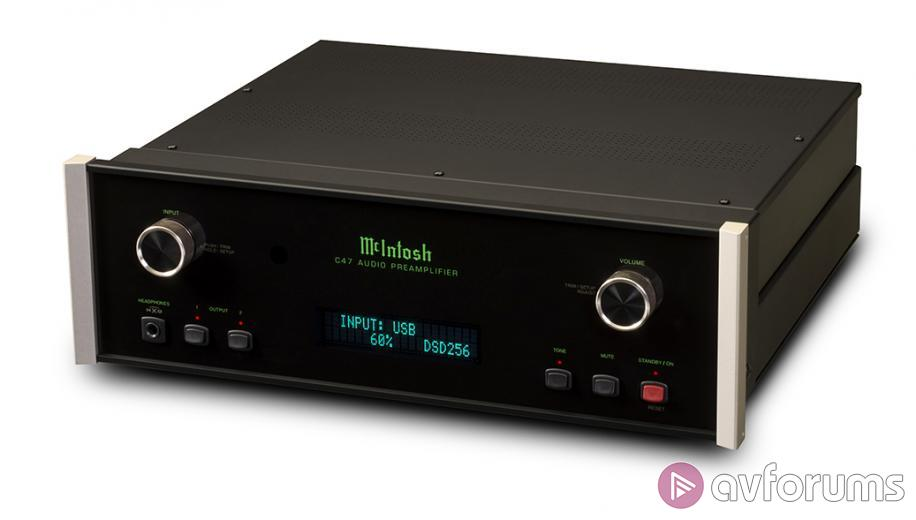 McIntosh C47 preamp launches