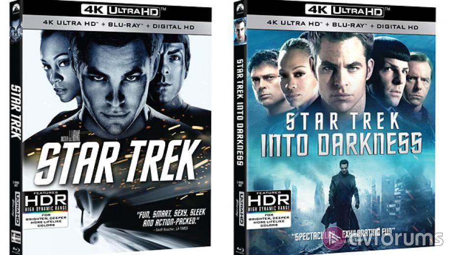 Paramount announces first Ultra HD Blu-ray titles