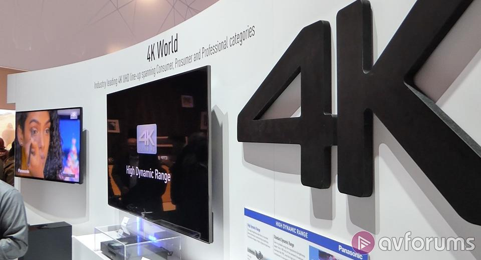 Panasonic unveil their UK TV plans for 2015