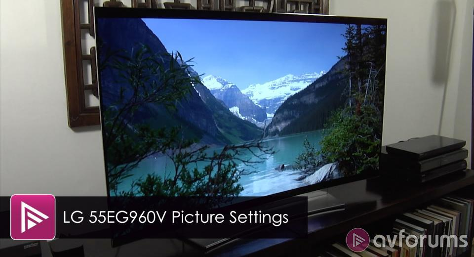 Oled Tv Picture Settings