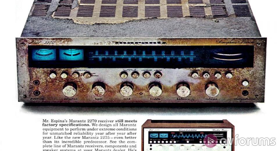 We Didn't Start the Fire - 60 Years of Marantz