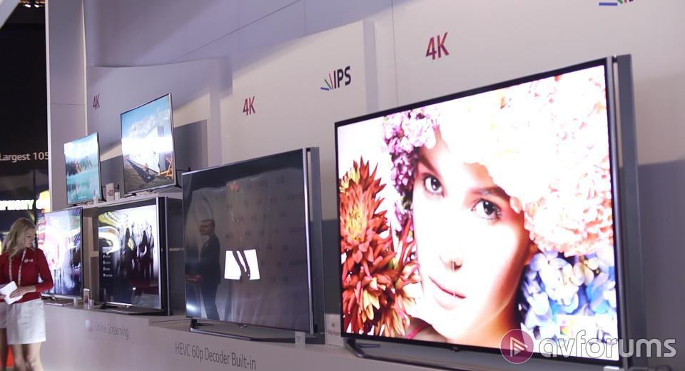 CES 2014 - First look at LG's new 4K TV line-up