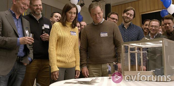 Downsizing Downsizing Blu-ray Picture Quality