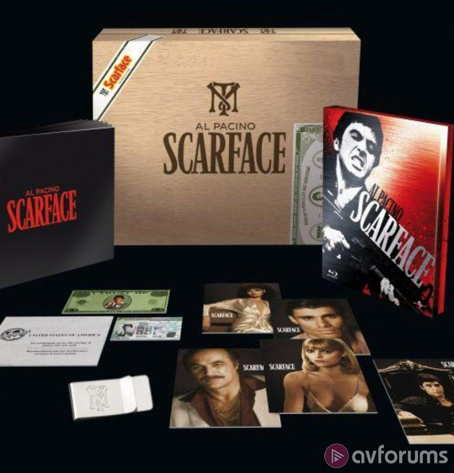 Scarface - Limited Edition Cigar Box Blu-ray Review