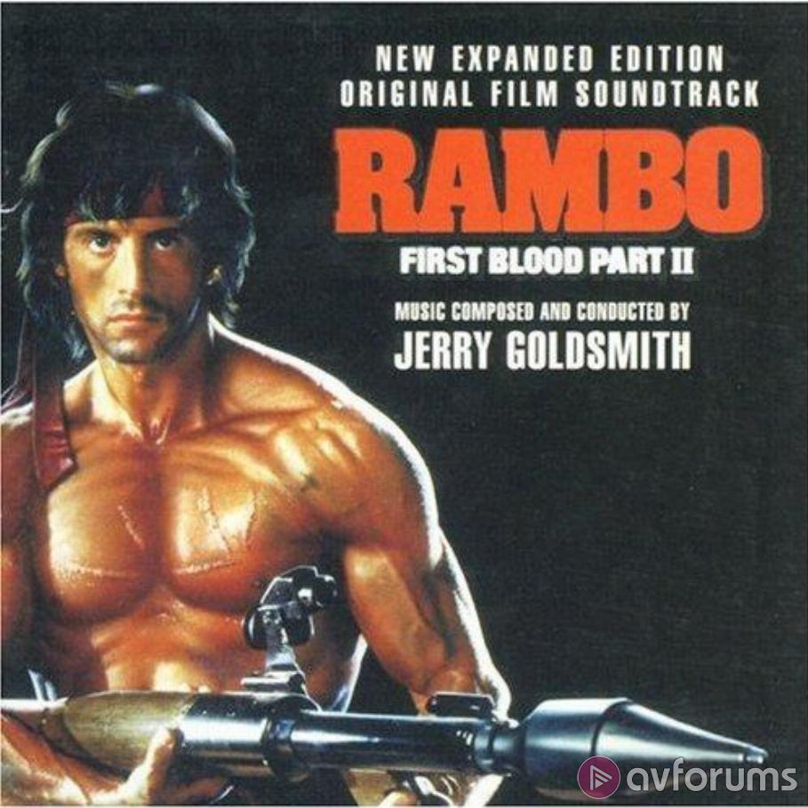 Rambo: First Blood Part II - Original Film Soundtrack Expanded Edition Soundtrack Review