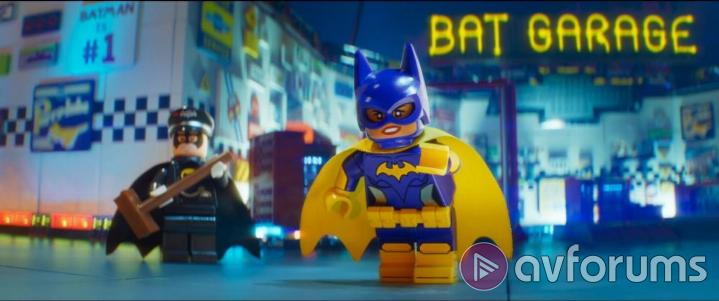 The LEGO Batman Movie Extras