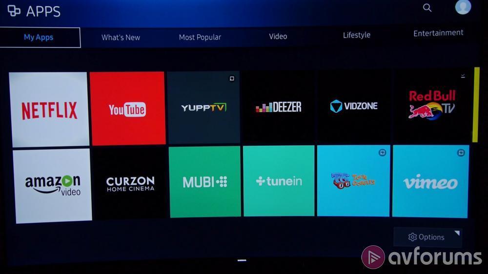 samsung 2016 tizen smart tv system review avforums. Black Bedroom Furniture Sets. Home Design Ideas