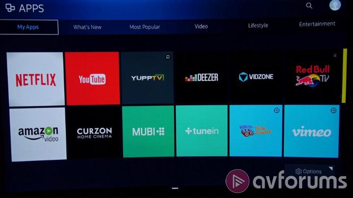 Samsung Smart TV System 2016