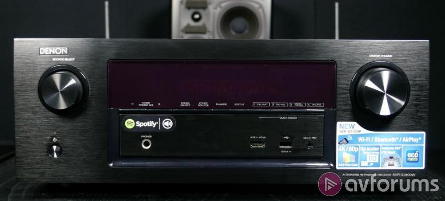 Denon AVR-X3100W 7 2 AV Receiver Review | AVForums