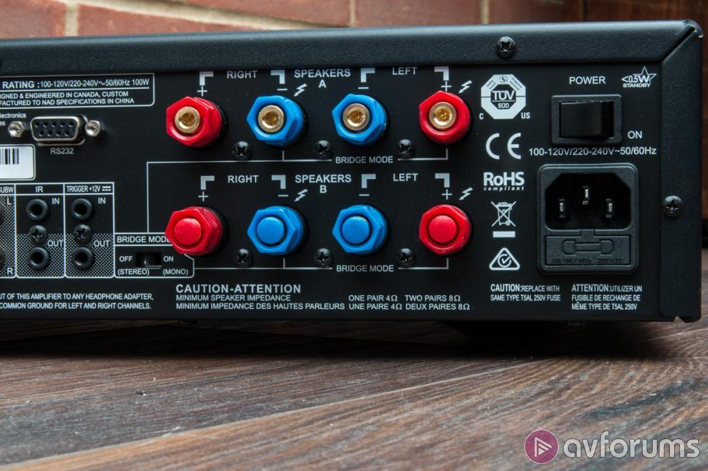 NAD C368 Integrated HiFi Stereo Amplifier Review   AVForums