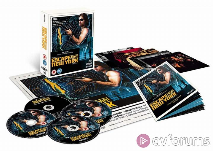 Escape from New York 4K Blu-ray Review Escape From New York 4K Extras