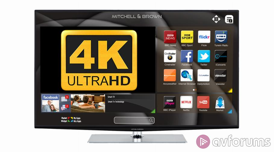Mitchell & Brown 49-inch 4K LED LCD TV Review