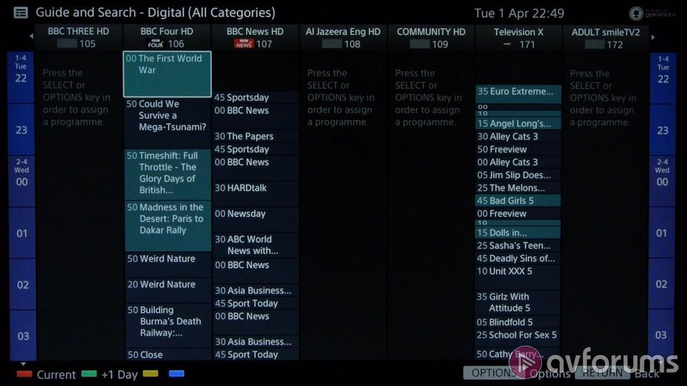 Sony Smart TV Platform 2014 Review | AVForums