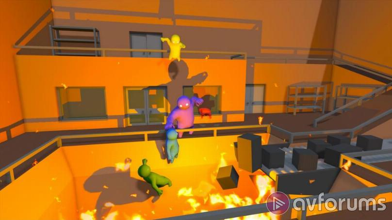 Sony PlayStation 4  Gang Beasts text