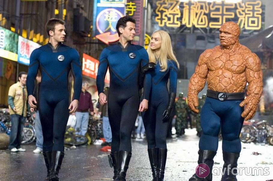 Fantastic Four: Rise of the Silver Surfer Blu-ray Review