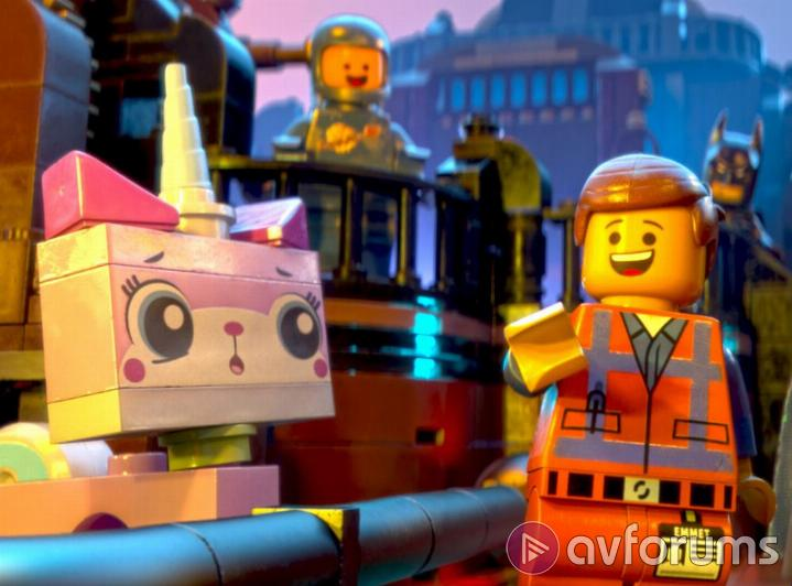 The Lego Movie How does The Lego Movie Blu-ray Sound
