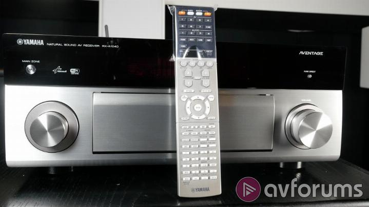 Yamaha rx a1040 av receiver review avforums for Yamaha remote control app