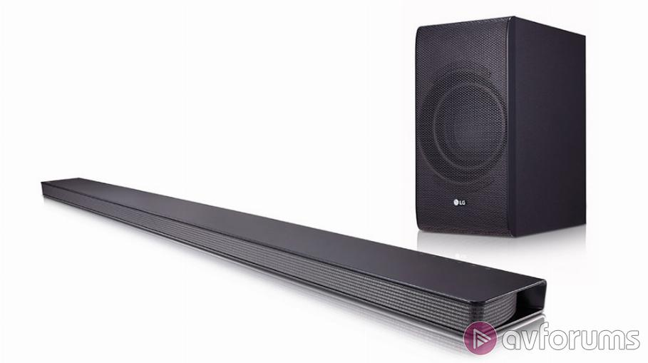 LG SJ8 Music Flow Soundbar Review | AVForums
